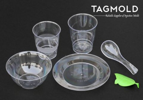 Plastic airline cup and other thin-wall products