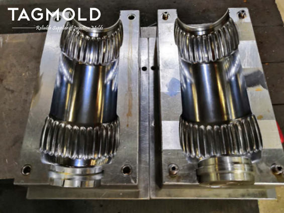 PET blowing mould 1 cavity small injection mould