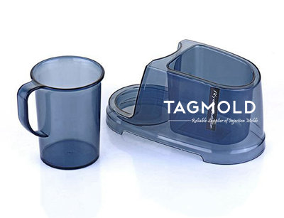 Plastic cup sample with base part