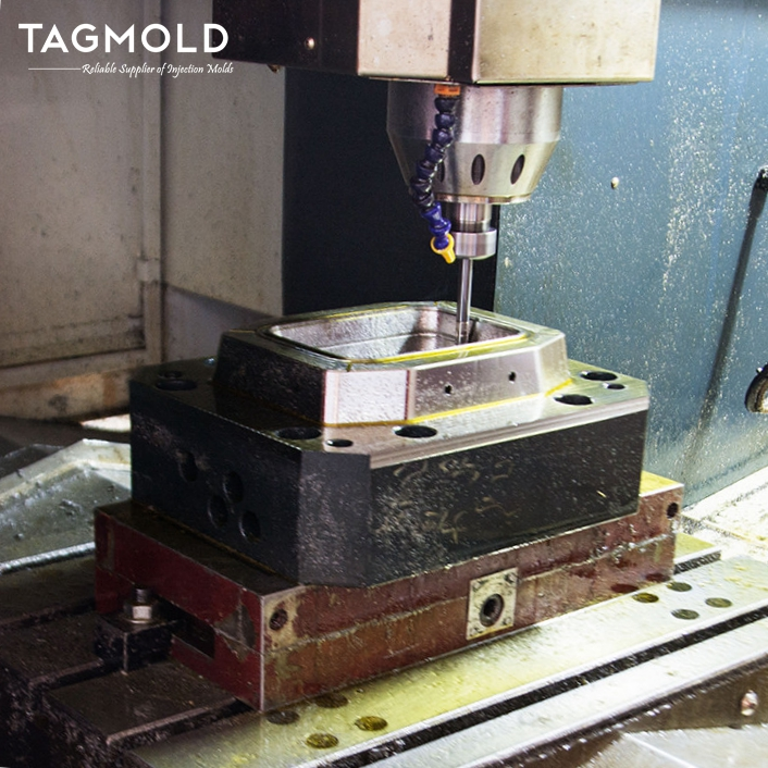 Thin wall injection moulding CNC processing