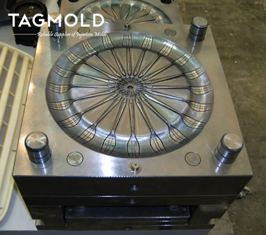 Disposable fork mould 20 cavities